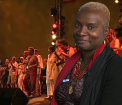 Angelique Kidjo is a committed activist and humanitarian. Courtesy of UNV.org.